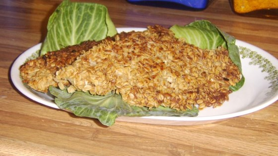 Oat Crusted Fish