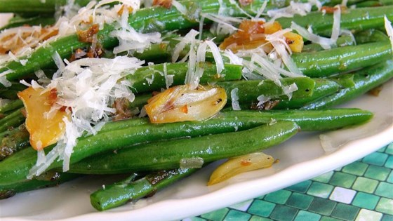 Garlicky Green Beans with Shallot Recipe - Allrecipes.com