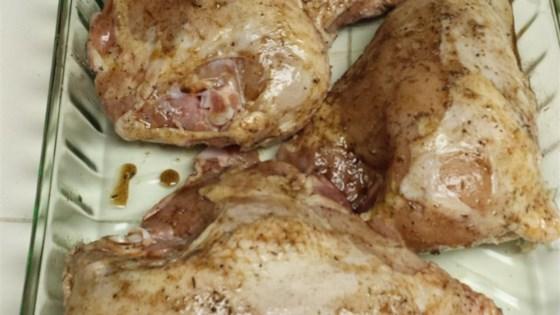 Cinnamon-Rubbed Chicken