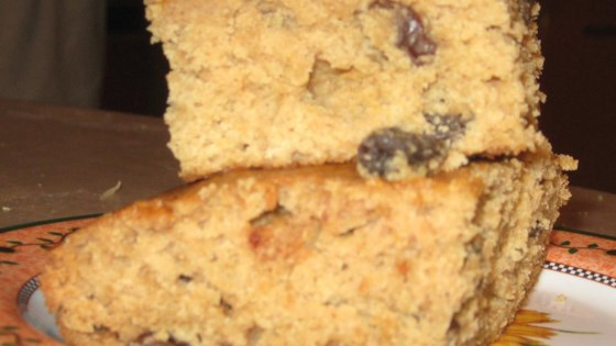 Applesauce Raisin Bars