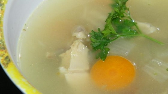 Reinvented Turkey Leftovers Soup