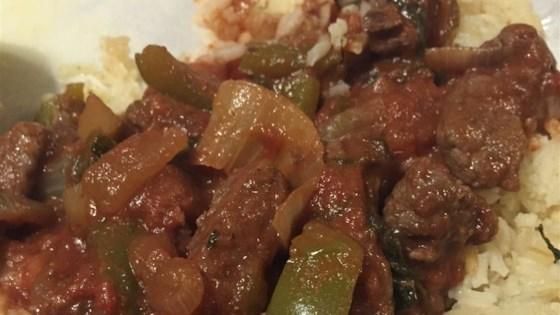 Mom-Mom's Pepper Steak