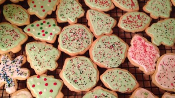 Spiced christmas tree cookies recipe