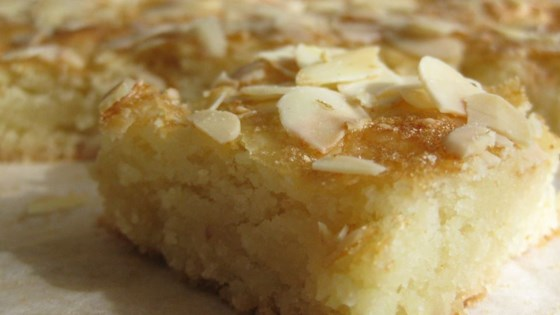 Almond Squares Ii Recipe Allrecipes Com