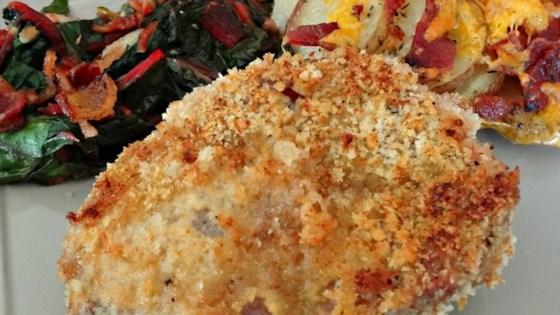 Easy Oven Fried Pork Chops