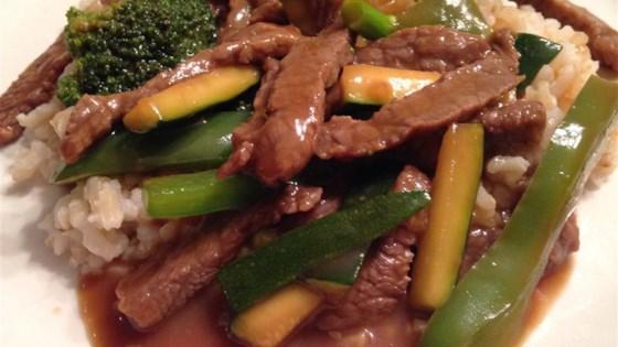 Savory Beef Stir-Fry
