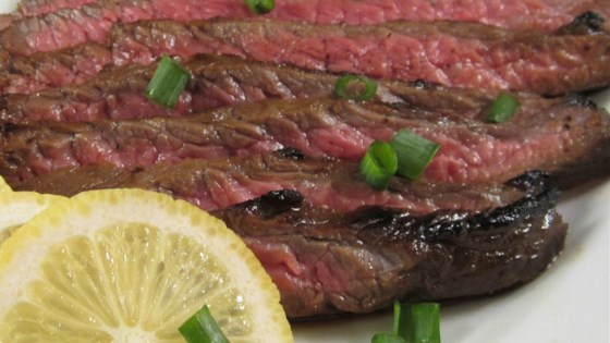 Asian Flat Iron Steak
