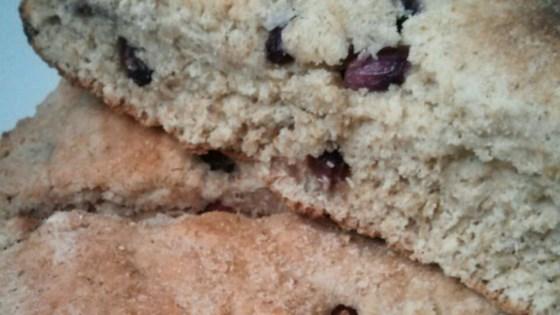 Whole Wheat Pomegranate Scones Recipe - Allrecipes.com