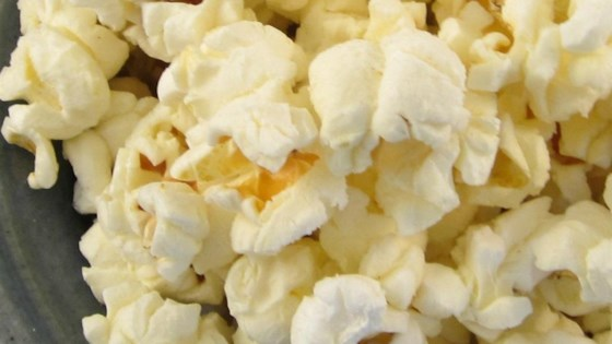 Curried Microwave Popcorn