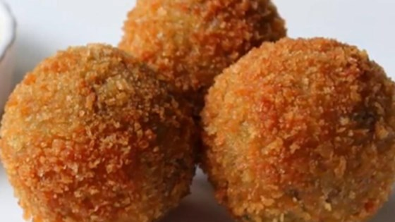 Image result for salmon potato balls