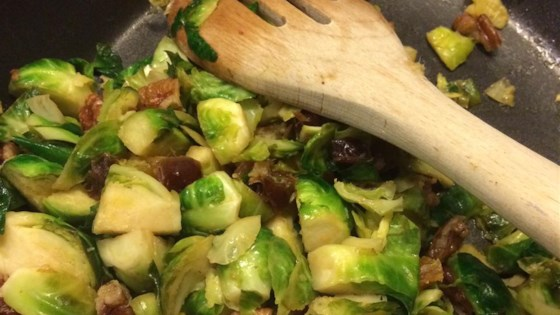 Ginger Orange Brussels Sprouts