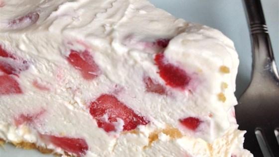 Strawberry Frozen Pie