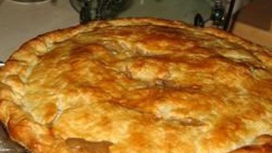 Left-Over Turkey Pot Pie