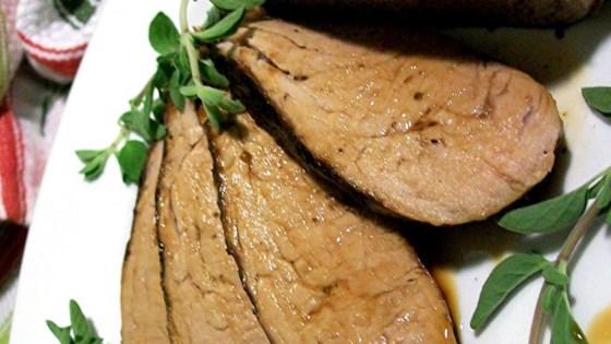 Grecian Pork Tenderloin