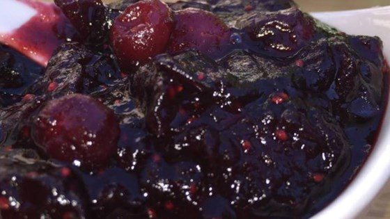 Cranberry Sauce with Raspberry Vinegar