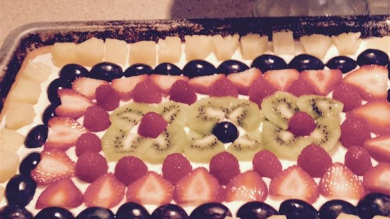 Karen's Fruit Pizza