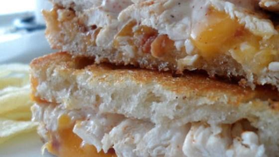 Sourdough Chipotle Chicken Panini