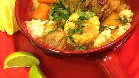 Mexican Oxtail Beef Soup