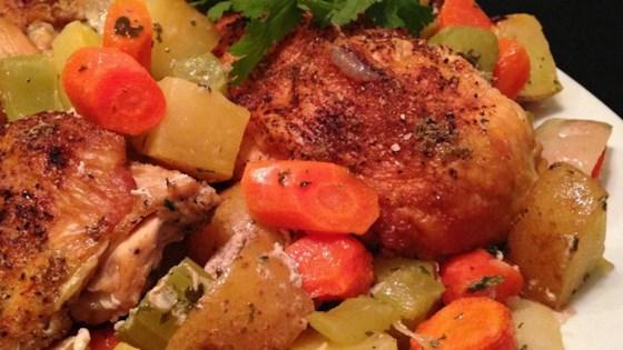 Mom's Chicken En Cocotte