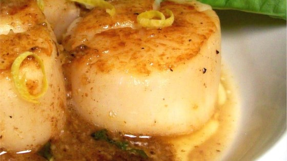 Easy Garlic-Lemon Scallops