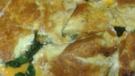 Creamy Kale Omelet a la Villere