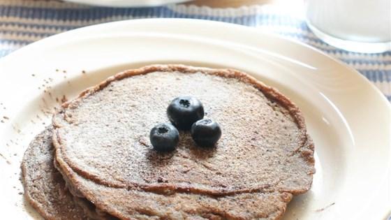 Easy Banana Chia Blueberry Pancakes