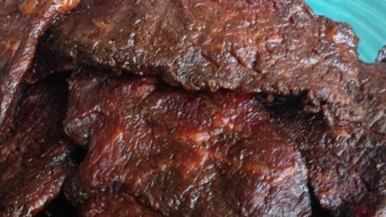 Homemade Beef Jerky Recipe - Allrecipes.com