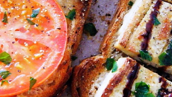 Grilled Tofu Sandwich