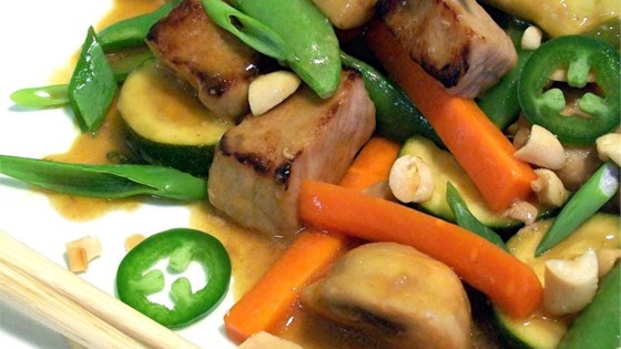 Vegetable recipes for pork