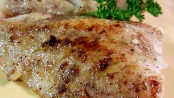 Jamaican seasoned sauteed swai fillets recipe for Fish seasoning recipe