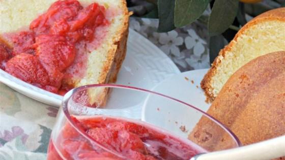 Strawberries for Shortcake