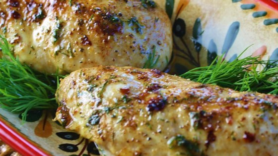 Three Ingredient Baked Chicken Breasts