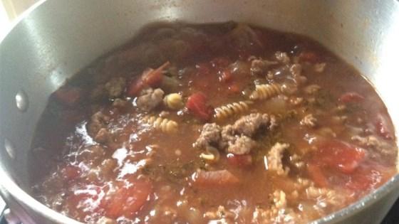 Easy Sausage-Pasta Soup