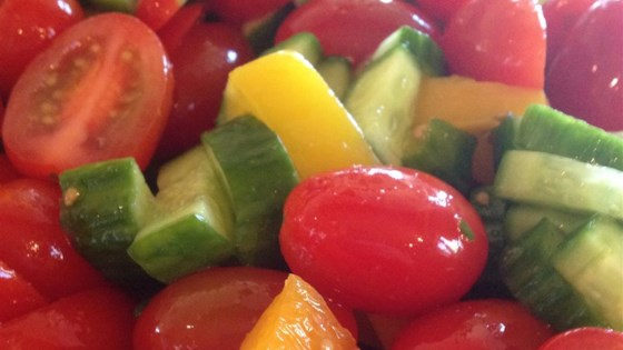 Tomato and Pepper Salad