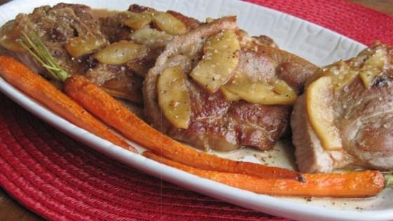 Pork Steaks with Orange-Apple Sauce