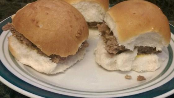 Almost White Castle® Hamburgers