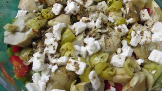 Winter Root Vegetable Salad