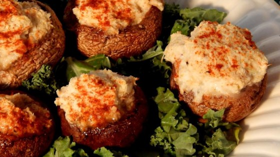 Crab Stuffed Mushrooms III Recipe - Allrecipes.com