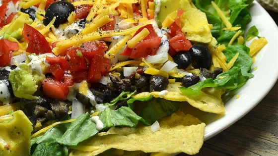 Easy Black Bean Taco Salad