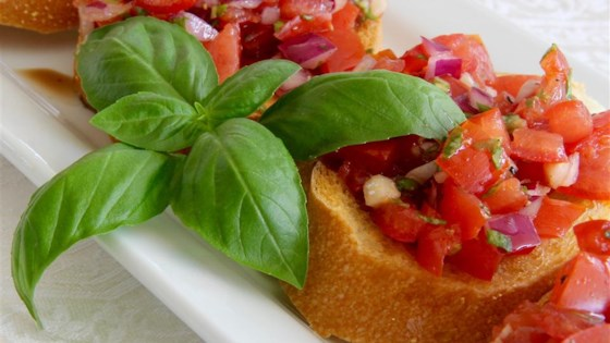 Italian Style Bruschetta Recipe Allrecipes Com