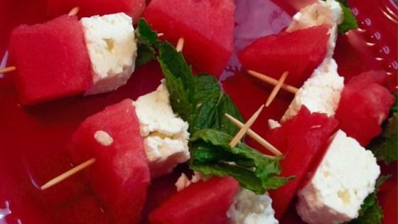 Watermelon Salad on a Stick