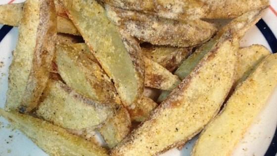 Rosemary Baked Potato Wedges