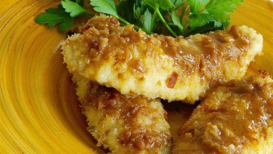 Pounded Chicken with Sherry-Dijon Sauce