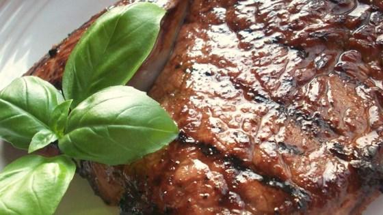 Savory Garlic Marinated Steaks Recipe Allrecipes Com