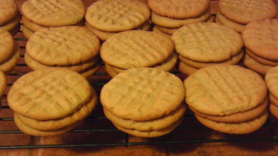 Classic Peanut Butter Cookies Recipe Allrecipes Com