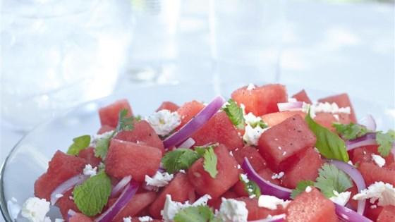 Herb Watermelon Feta Salad