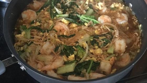My Husband's Pad Thai Noodles