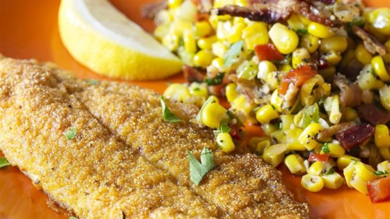Southern Style Oven Fried Catfish Recipe Allrecipes Com