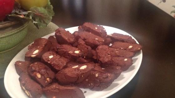 Chocolate Chocolate Biscotti