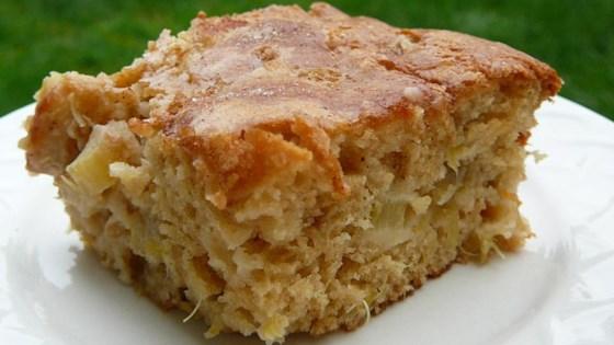 Rhubarb Stir Cake